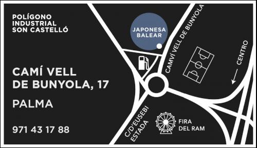 Mazda Palma Mapa - Japonesa Baleares
